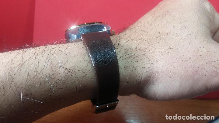Vintage: Reloj Herma de caballero, seminuevo, de cuarzo, raro modelo con 7 rubís, vintage - Foto 16 - 113916939