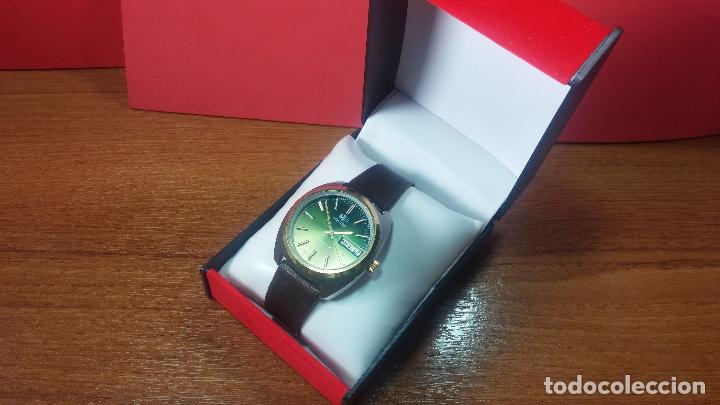 Vintage: Reloj Herma de caballero, seminuevo, de cuarzo, raro modelo con 7 rubís, vintage - Foto 34 - 113916939
