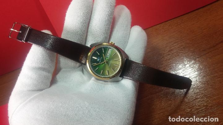 Vintage: Reloj Herma de caballero, seminuevo, de cuarzo, raro modelo con 7 rubís, vintage - Foto 38 - 113916939
