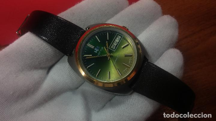 Vintage: Reloj Herma de caballero, seminuevo, de cuarzo, raro modelo con 7 rubís, vintage - Foto 41 - 113916939
