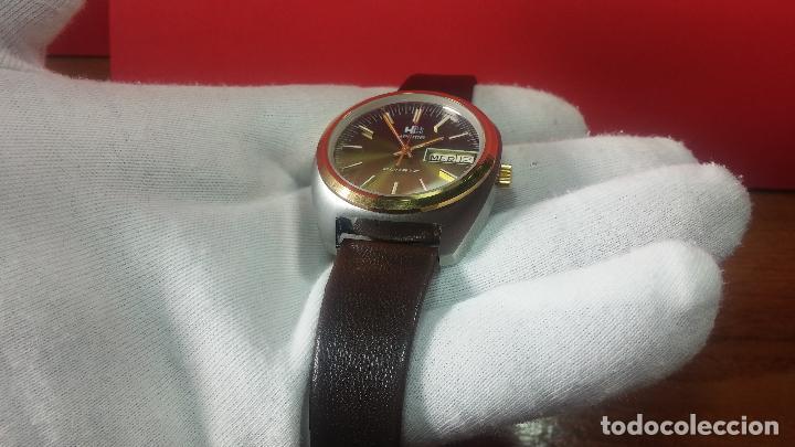 Vintage: Reloj Herma de caballero, seminuevo, de cuarzo, raro modelo con 7 rubís, vintage - Foto 49 - 113916939