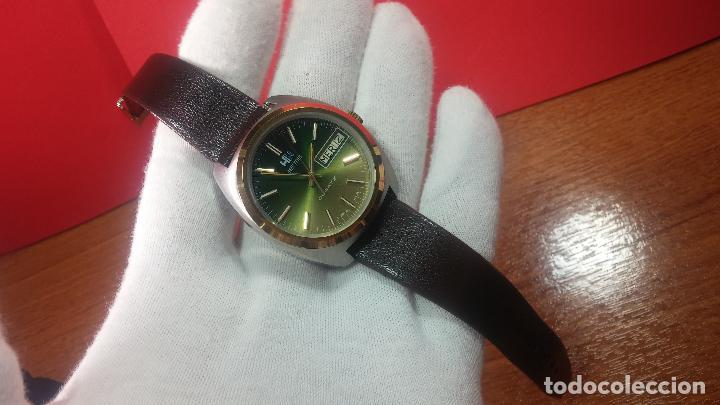 Vintage: Reloj Herma de caballero, seminuevo, de cuarzo, raro modelo con 7 rubís, vintage - Foto 50 - 113916939