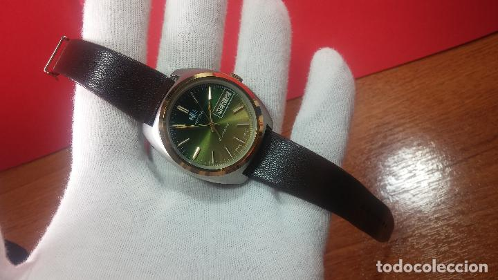 Vintage: Reloj Herma de caballero, seminuevo, de cuarzo, raro modelo con 7 rubís, vintage - Foto 51 - 113916939