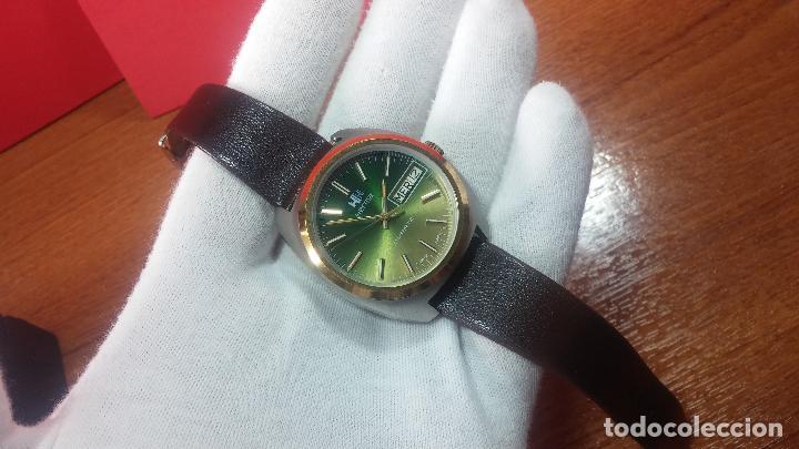 Vintage: Reloj Herma de caballero, seminuevo, de cuarzo, raro modelo con 7 rubís, vintage - Foto 52 - 113916939