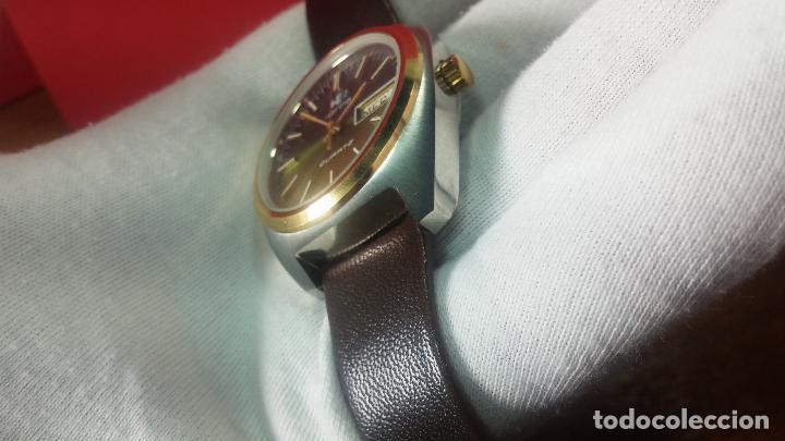 Vintage: Reloj Herma de caballero, seminuevo, de cuarzo, raro modelo con 7 rubís, vintage - Foto 53 - 113916939