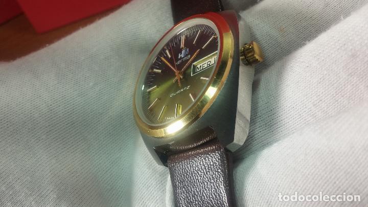 Vintage: Reloj Herma de caballero, seminuevo, de cuarzo, raro modelo con 7 rubís, vintage - Foto 54 - 113916939
