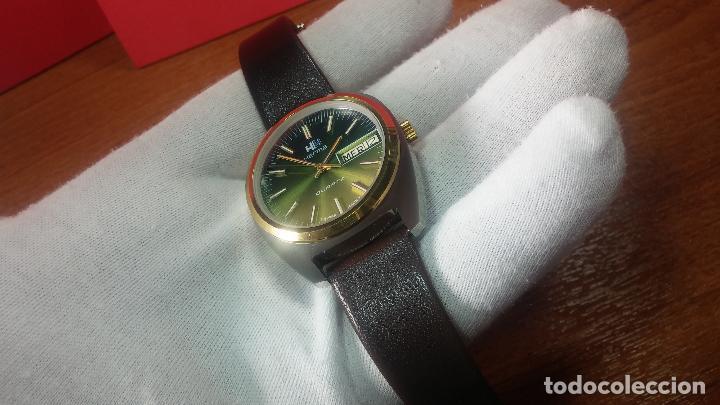 Vintage: Reloj Herma de caballero, seminuevo, de cuarzo, raro modelo con 7 rubís, vintage - Foto 57 - 113916939