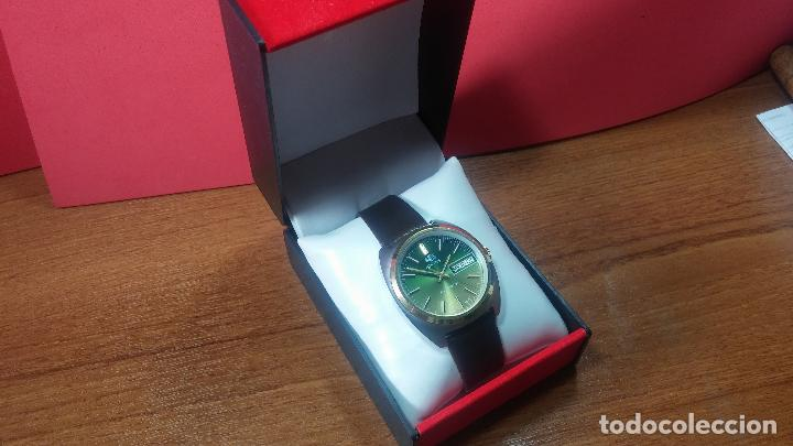 Vintage: Reloj Herma de caballero, seminuevo, de cuarzo, raro modelo con 7 rubís, vintage - Foto 59 - 113916939