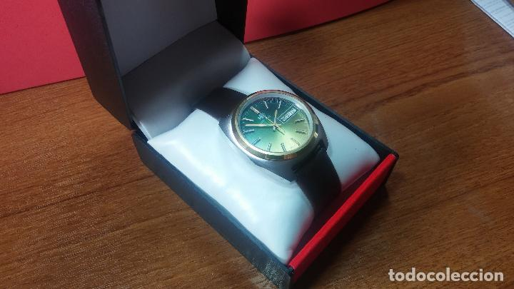 Vintage: Reloj Herma de caballero, seminuevo, de cuarzo, raro modelo con 7 rubís, vintage - Foto 63 - 113916939