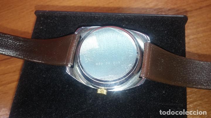 Vintage: Reloj Herma de caballero, seminuevo, de cuarzo, raro modelo con 7 rubís, vintage - Foto 67 - 113916939