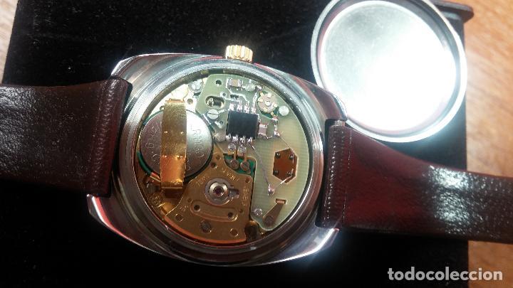 Vintage: Reloj Herma de caballero, seminuevo, de cuarzo, raro modelo con 7 rubís, vintage - Foto 69 - 113916939