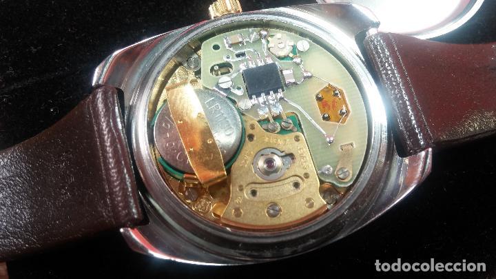 Vintage: Reloj Herma de caballero, seminuevo, de cuarzo, raro modelo con 7 rubís, vintage - Foto 71 - 113916939