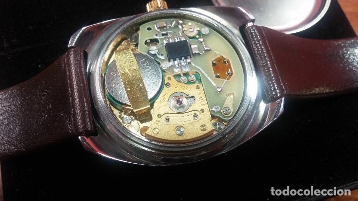 Vintage: Reloj Herma de caballero, seminuevo, de cuarzo, raro modelo con 7 rubís, vintage - Foto 72 - 113916939