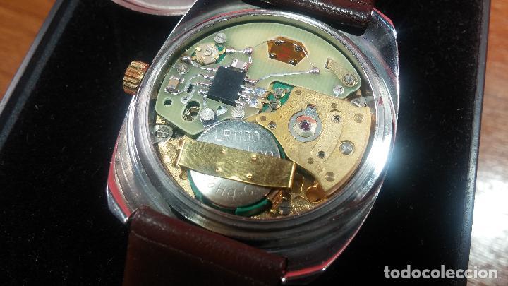 Vintage: Reloj Herma de caballero, seminuevo, de cuarzo, raro modelo con 7 rubís, vintage - Foto 73 - 113916939