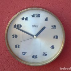 Vintage: RELOJ VINTAGE DE LATÓN, MARCA EXTEND, ELECTRONIC. MADE IN GERMANY. NO FUNCIONA.. Lote 151546084