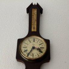 Vintage: RELOJ CON ESTACIÓN METEOROLÓGICA MECANISMO KENZEL MADE IN GERMANY. VINTAGE AÑOS 70. Lote 114217143