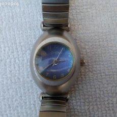 Vintage: RELOJ (LE CHAT) FALTA PILAS MALLA ELASTICA. Lote 114541667