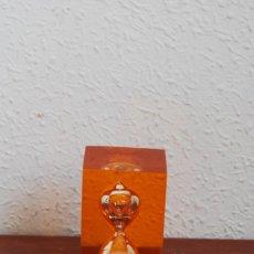 Vintage: RELOJ DE ARENA DE METACRILATO - DURACIÓN 3 MINUTOS - AÑOS 60-70. Lote 115470891