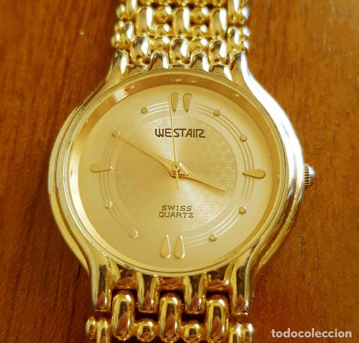 Vintage: Reloj WESTAIR 18K gold electro plated, Vintage, NOS (new old stock) - Foto 2 - 116358175