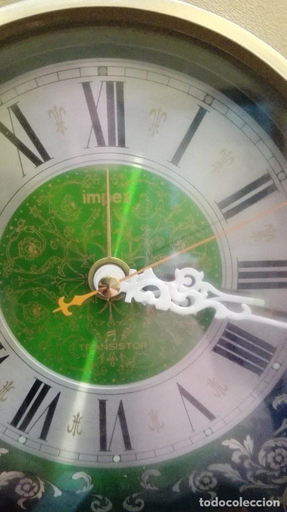 Vintage: reloj impex transistor funciona - Foto 3 - 118385143