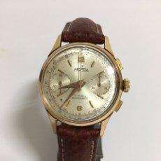 Vintage Uhren - RELOJ ARCADIA CRONÓGRAFO LANDERON DE CUERDA AÑOS 40-50 - 114938360