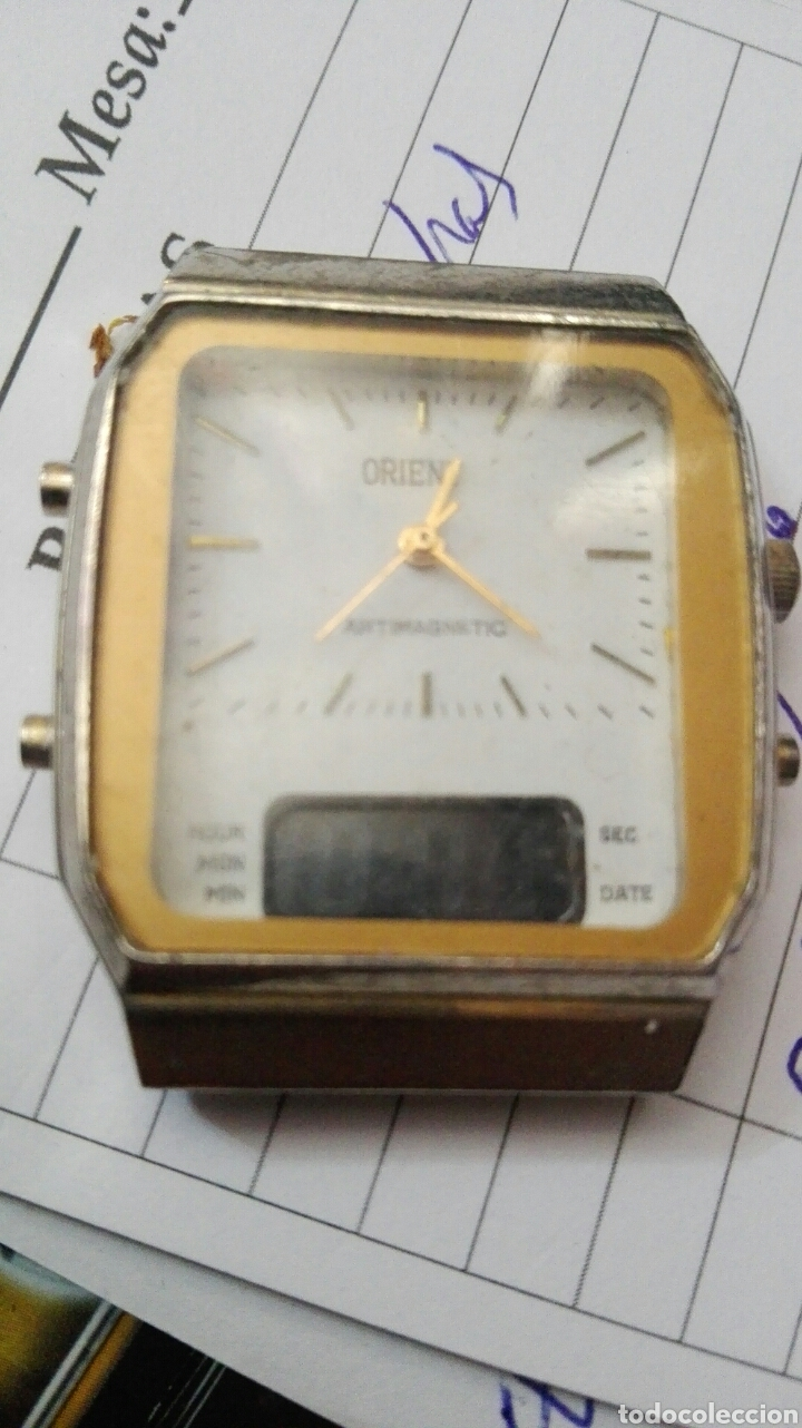 ORIENT ANTIMAGNETIC CUERDA Y DIGITAL (Relojes - Relojes Vintage )