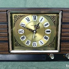 Vintage: RELOJ TOKYO CLOCK MADE IN JAPAN A CUERDA CON CAJA DE MUSICA Y CAMPANA. Lote 120028127
