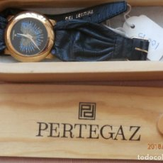 Vintage: RELOJ DE MUJER DE PERTEGAZ. EN SU ESTUCHE DE MADERA. NO FUNCIONA. Lote 120104307