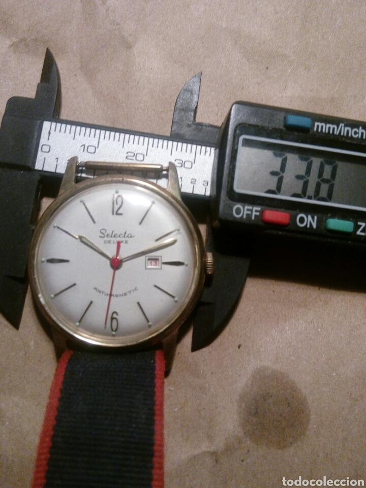 RELOJ SELECTA CUERDA MANUAL UNA RAREZA PRECIADO Y COLECCIONABLE (Relojes - Relojes Vintage )