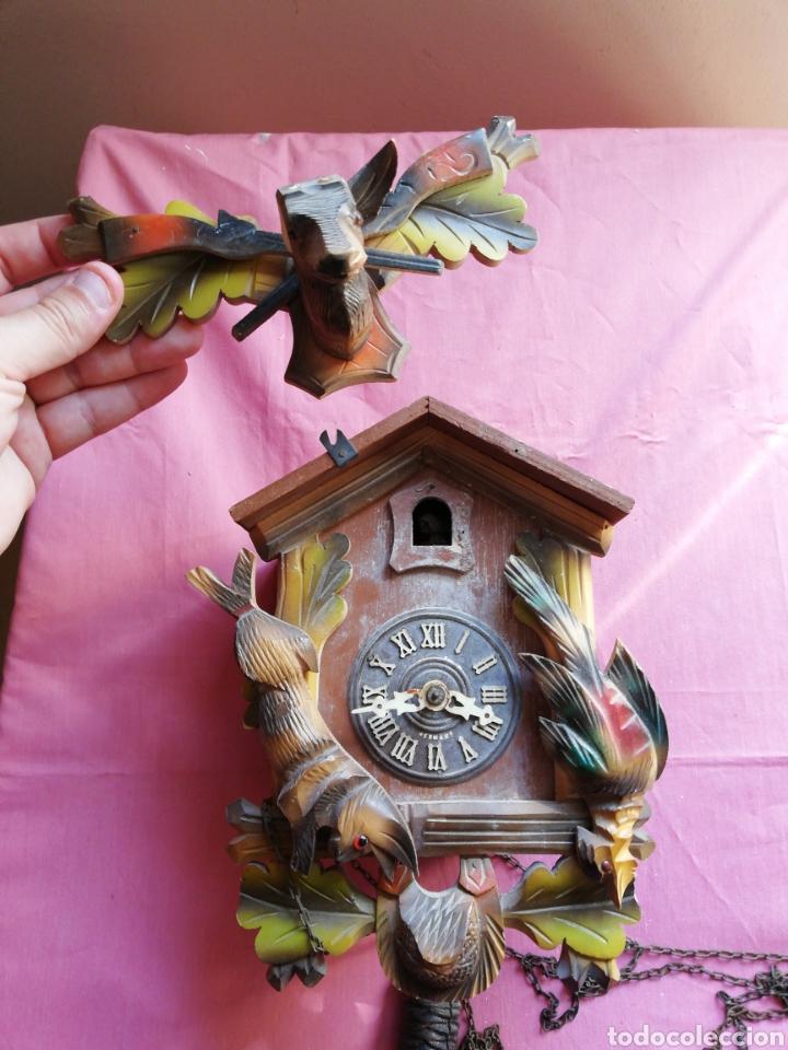 Vintage: Reloj de cuco germany - Foto 2 - 121041488