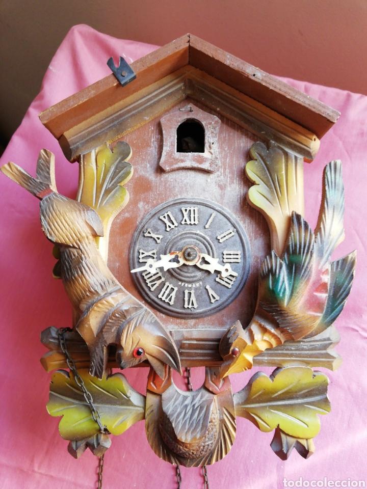 Vintage: Reloj de cuco germany - Foto 6 - 121041488