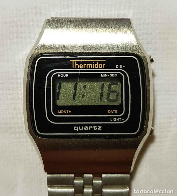 Vintage: RELOJ THERMIDOR VINTAGE C1980, NOS (NEW OLD STOCK) - Foto 3 - 122874207