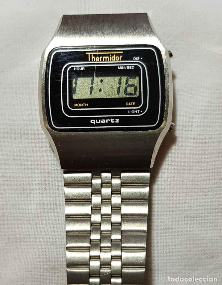 Vintage: RELOJ THERMIDOR VINTAGE C1980, NOS (NEW OLD STOCK) - Foto 4 - 122874207