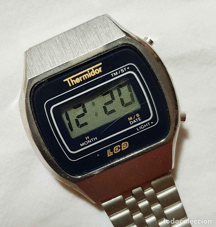 RELOJ THERMIDOR DIGITAL VINTAGE C1980, NOS (NEW OLD STOCK) (Relojes - Relojes Vintage )