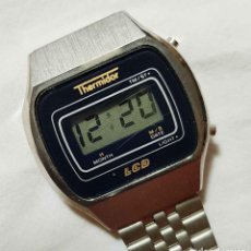 Vintage: RELOJ THERMIDOR DIGITAL VINTAGE C1980, NOS (NEW OLD STOCK). Lote 122874231