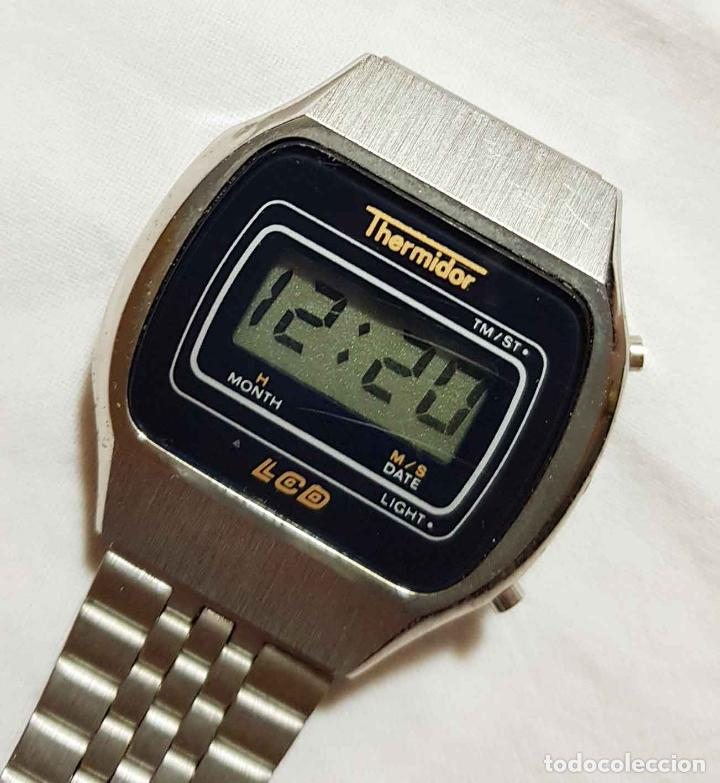 Vintage: RELOJ THERMIDOR digital VINTAGE C1980, NOS (NEW OLD STOCK) - Foto 2 - 122874231