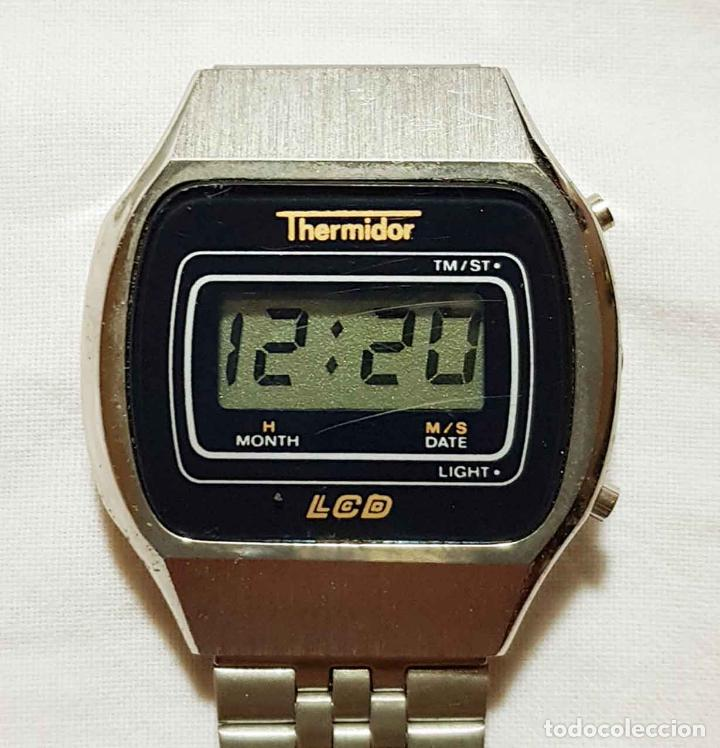 Vintage: RELOJ THERMIDOR digital VINTAGE C1980, NOS (NEW OLD STOCK) - Foto 3 - 122874231