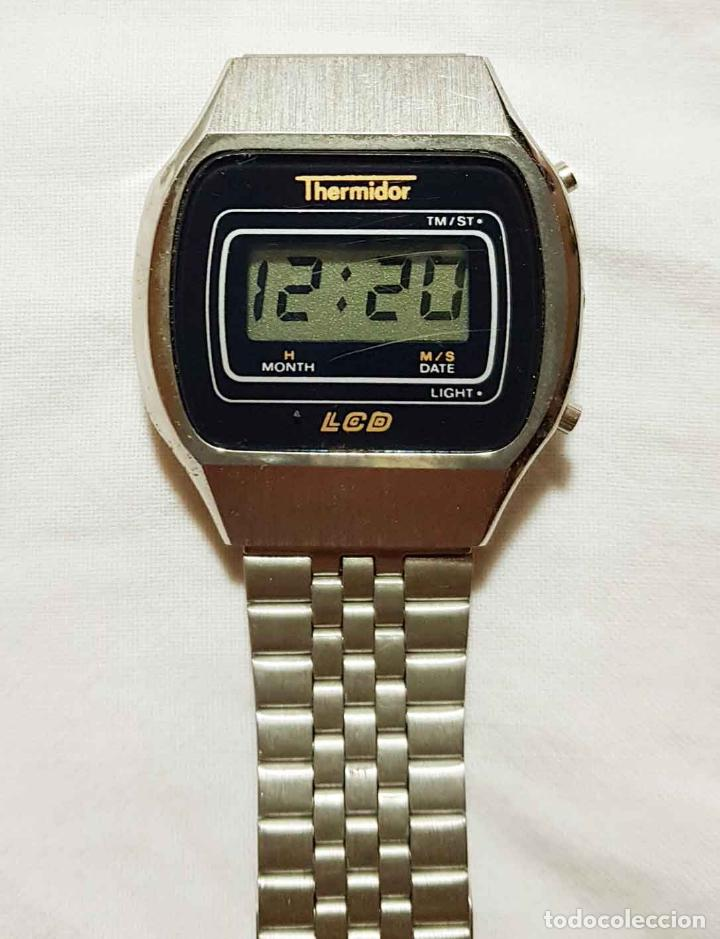 Vintage: RELOJ THERMIDOR digital VINTAGE C1980, NOS (NEW OLD STOCK) - Foto 4 - 122874231