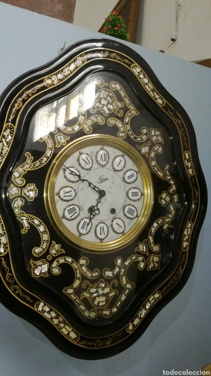 RELOJ DE PARED FUNCIONANDO L-R (Relojes - Relojes Vintage )