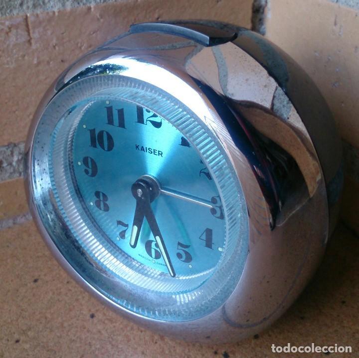 RELOJ DESPERTADOR VINTAGE KAISER WESTERN GERMANY PLÁSTICO (Relojes - Relojes Vintage )
