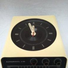 Vintage: RADIO RELOJ DE PARED Y DE MESA EUROPHON. Lote 125944751