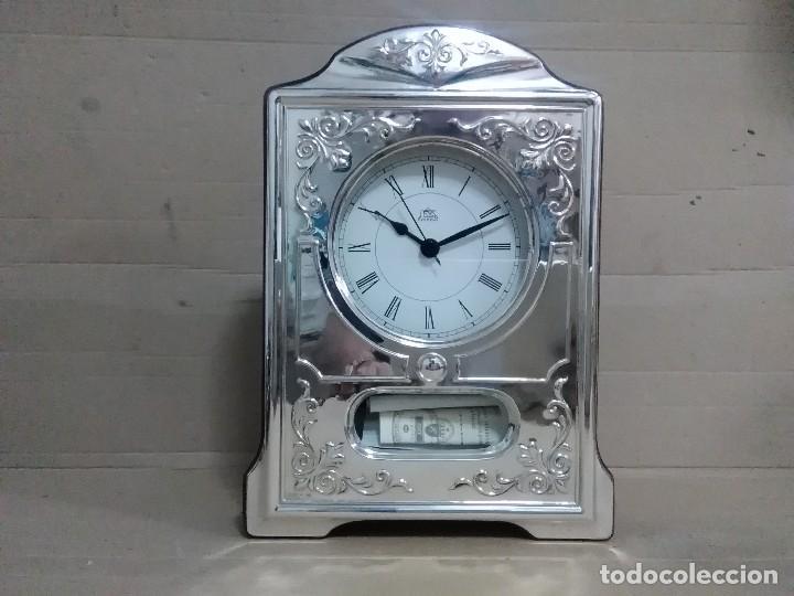 RELOJ MESA PLATA 925 27X18X5 CTMS (Relojes - Relojes Vintage )