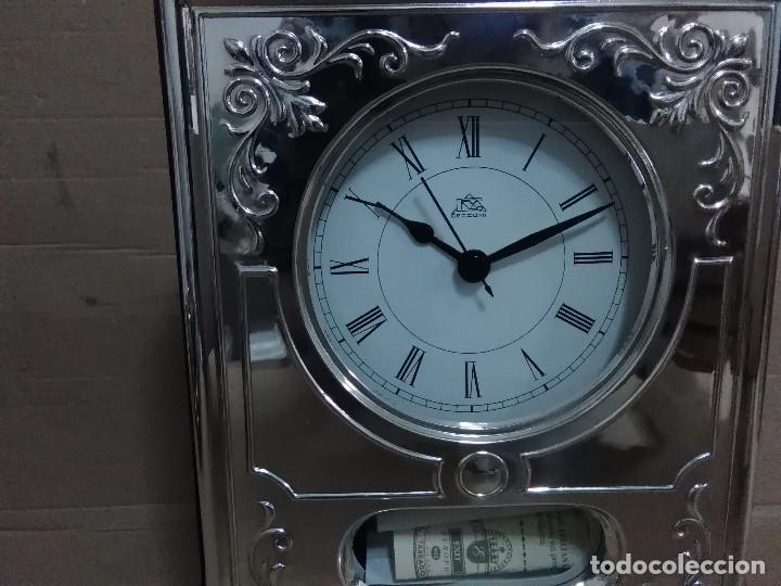 Vintage: Reloj mesa plata 925 27x18x5 ctms - Foto 2 - 126419631