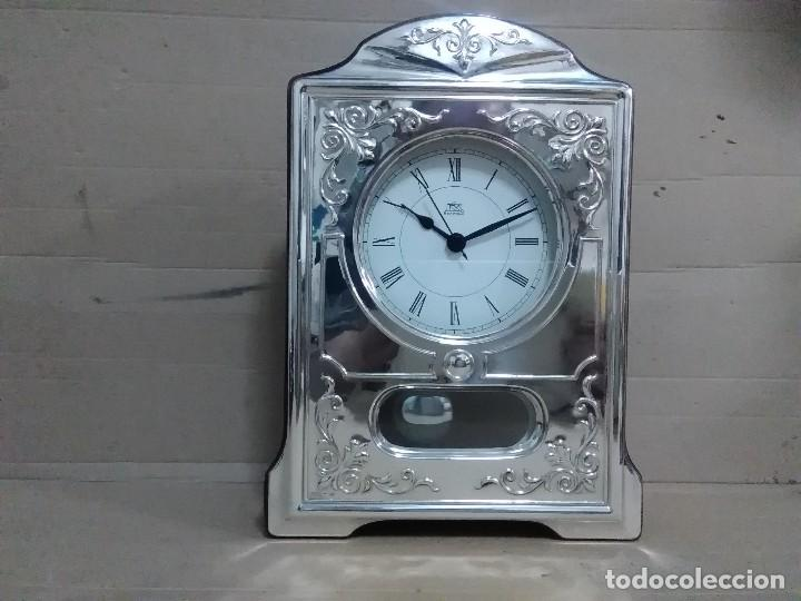 Vintage: Reloj mesa plata 925 27x18x5 ctms - Foto 5 - 126419631