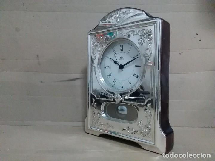 Vintage: Reloj mesa plata 925 27x18x5 ctms - Foto 6 - 126419631