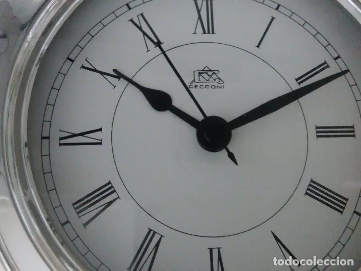 Vintage: Reloj mesa plata 925 27x18x5 ctms - Foto 8 - 126419631