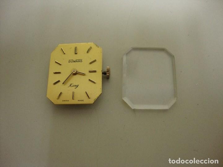 918- ANTIGUA MAQUINARIA RELOJ DUWARD KING (Relojes - Relojes Vintage )