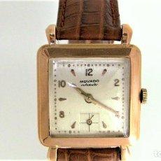 Vintage: RELOJ MOVADO ORO 18 K R8425 - UNISEX - 1901 - 1949. Lote 126720163