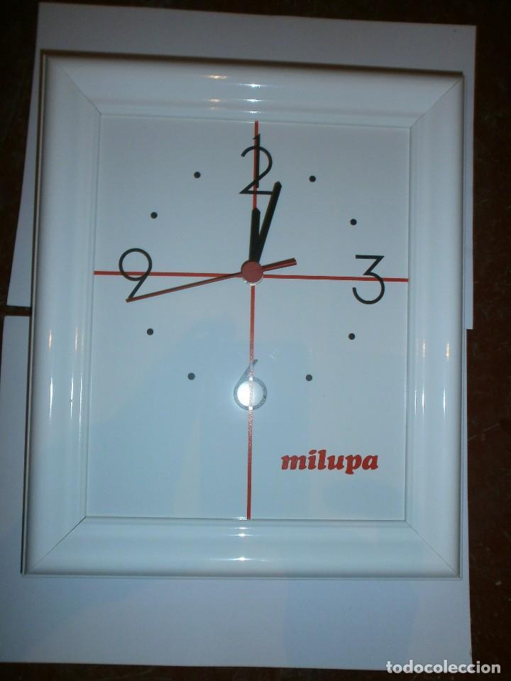 reloj de pared milupa de ceramica y marco mader - Comprar Relojes ...
