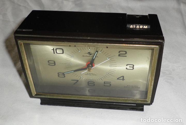 RELOJ DESPERTADOR VINTAGE AÑOS 60 SILICON CLOCK TOKYO JAPAN (Relojes - Relojes Vintage )